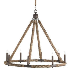 Currey and Company Bowline Chandelier 9536 - LOVECUP - 1