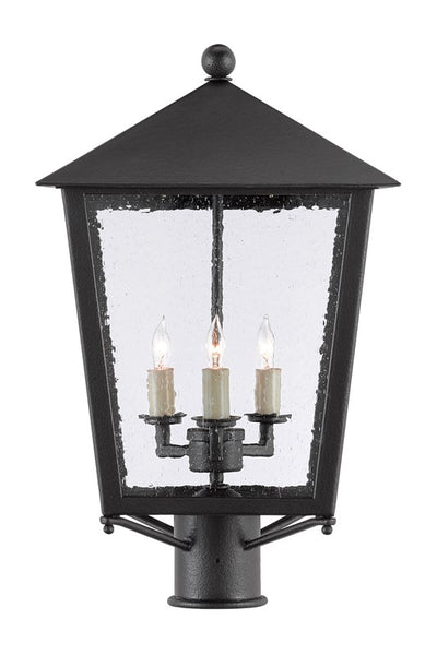 Currey and Company Bening Small Post Light 9600-0005