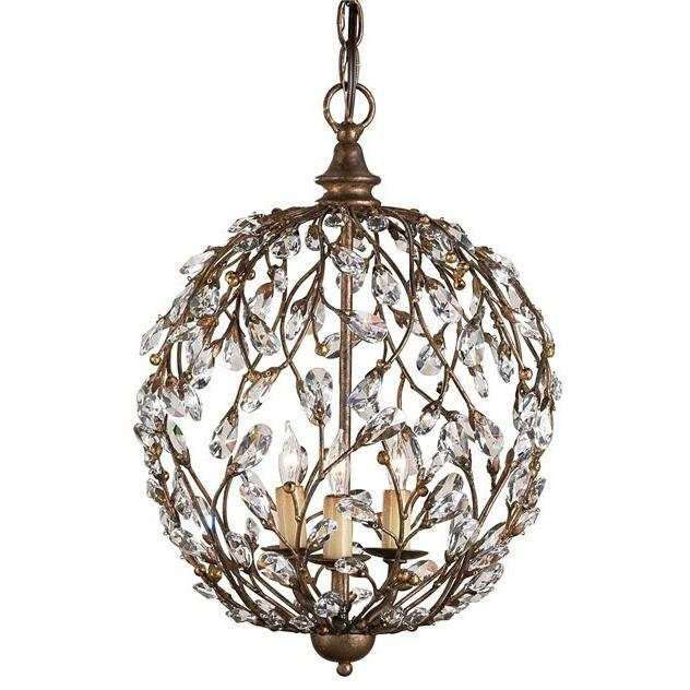 Currey and Company Crystal Bud Sphere Chandelier 9652 - LOVECUP