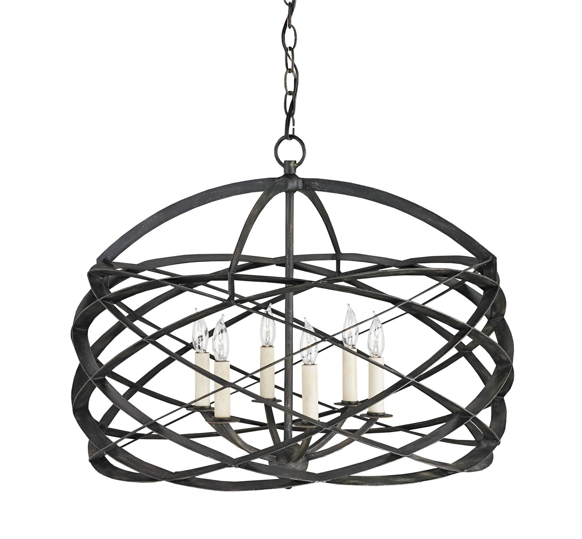 Currey and Company Horatio Chandelier 9729 - LOVECUP