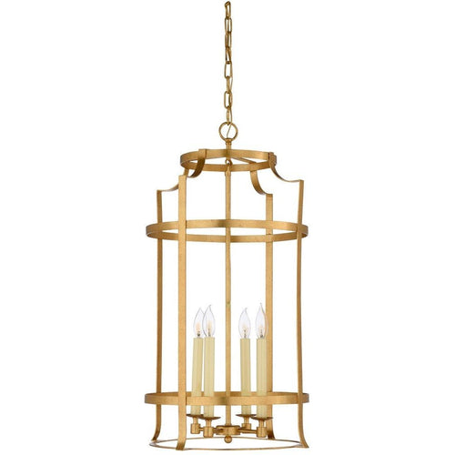 Chelsea House Large Romney Lantern - Gold 69266 - LOVECUP