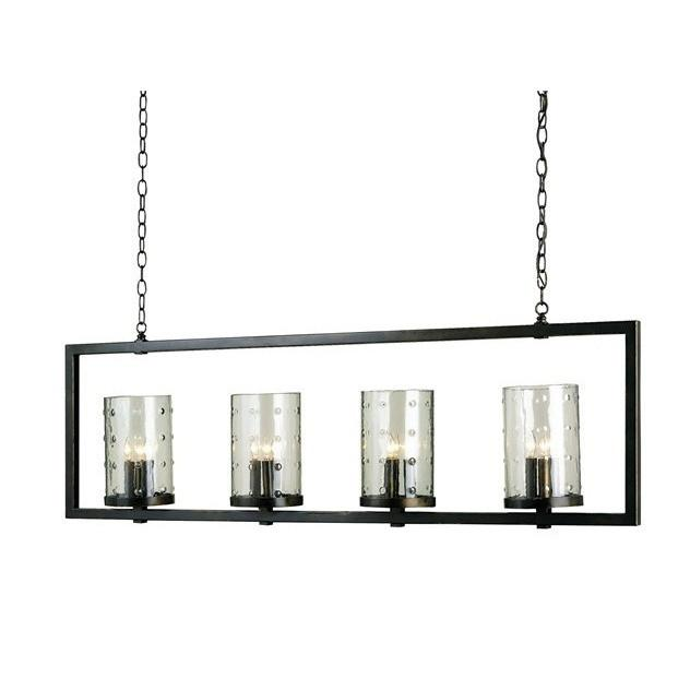 Currey and Company Longhope Rectangular Chandelier 9742 - LOVECUP