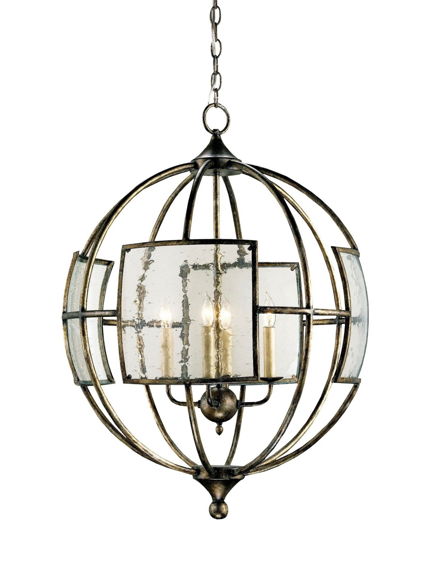 Currey and Company Broxton Orb Chandelier 9750 - LOVECUP