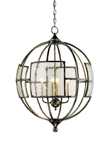 Currey and Company Broxton Orb Chandelier 9750