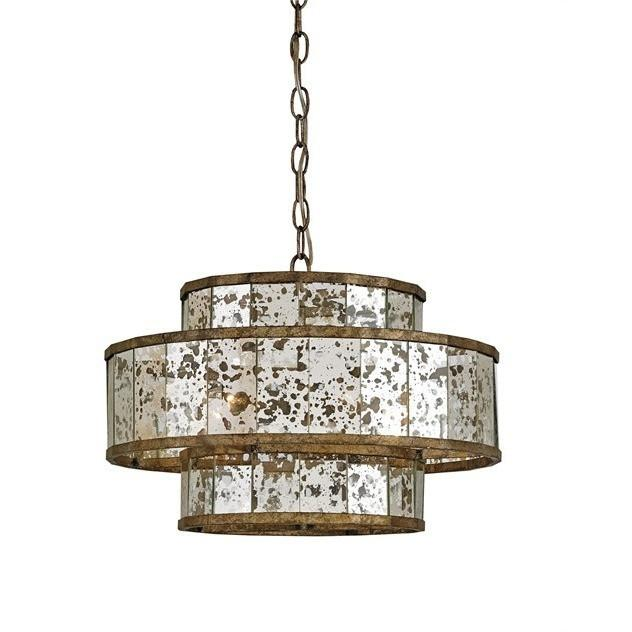Currey and Company Fantine Chandelier, Small - LOVECUP