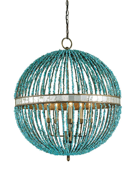 Currey and Company Alberto Orb Chandelier 9763