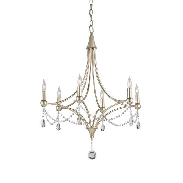 Currey and Company Etiquette Chandelier 9831 - LOVECUP - 1