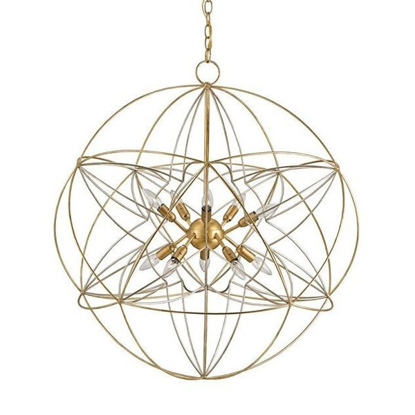 Currey and Company Zenda Orb Chandelier 9840