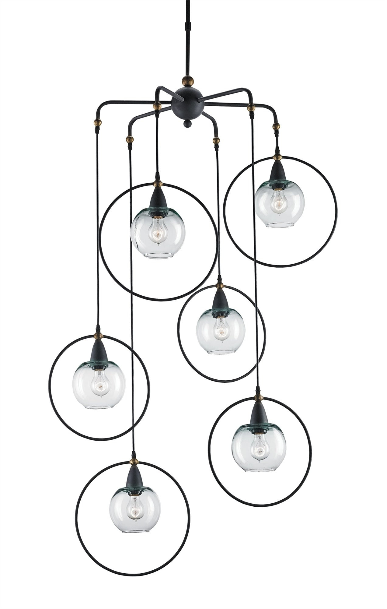 Currey and Company Moorsgate Multi Pendant 9869 - LOVECUP