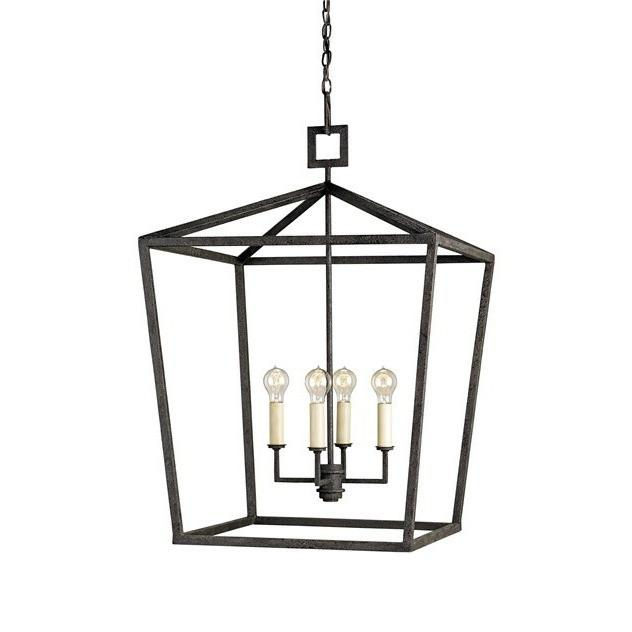 Currey and Company Denison Lantern, Small 9872 - LOVECUP