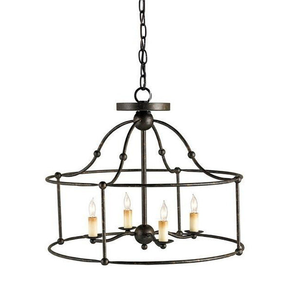 Currey and Company Fitzjames Ceiling Mount Pendant 9878