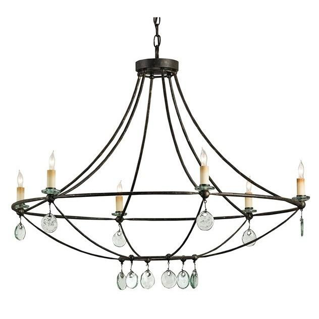 Currey and Company Novella Chandelier - LOVECUP
