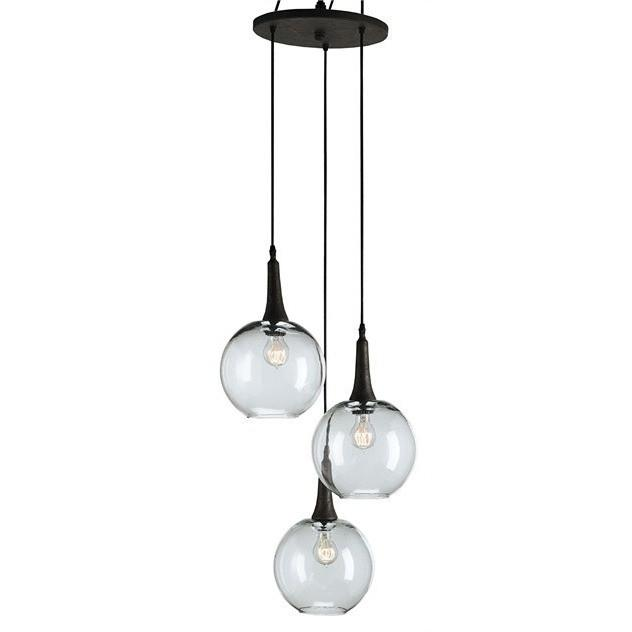 Currey and Company Beckett Trio Pendant 9969 - LOVECUP