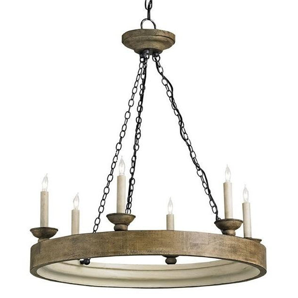 Currey and  Company Beachhouse Chandelier 9972