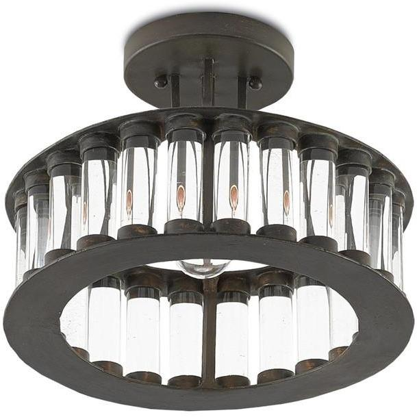 Currey and Company Elixir Semi-Flush Mount 9999-0028 - LOVECUP