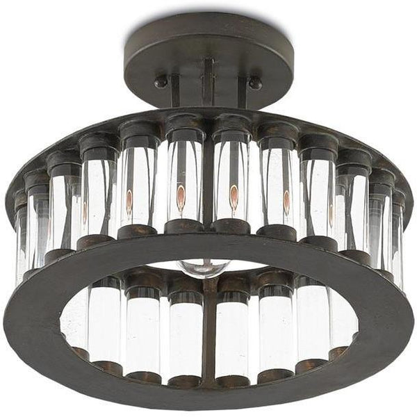 Currey and Company Elixir Semi-Flush Mount 9999-0028