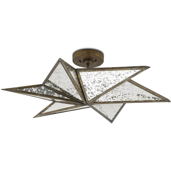 Currey and Company Stargazer Semi-Flush Mount 9999-0031