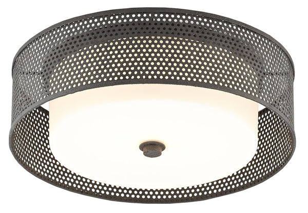 Currey and Company Notte Flush Mount 9999-0048