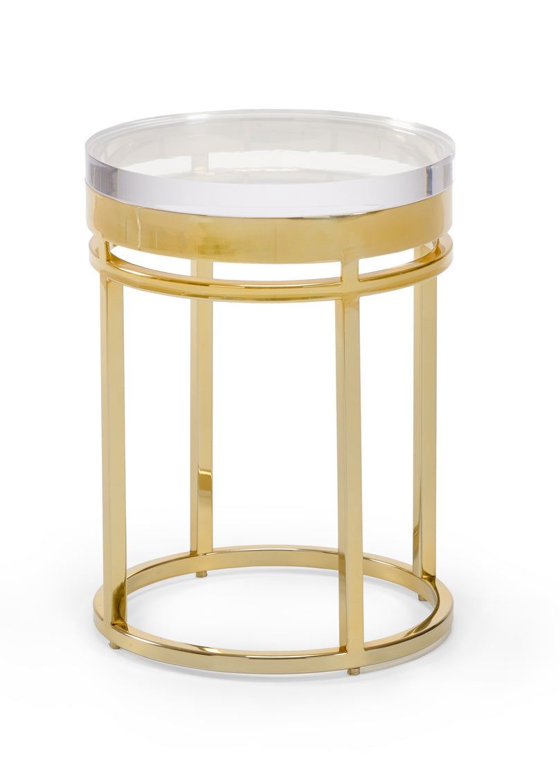 Chelsea House Acrylic Shelby End Table 384102