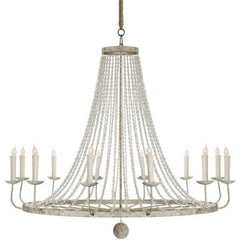 Aidan Gray Naples Chandelier, Large White L430 - LOVECUP