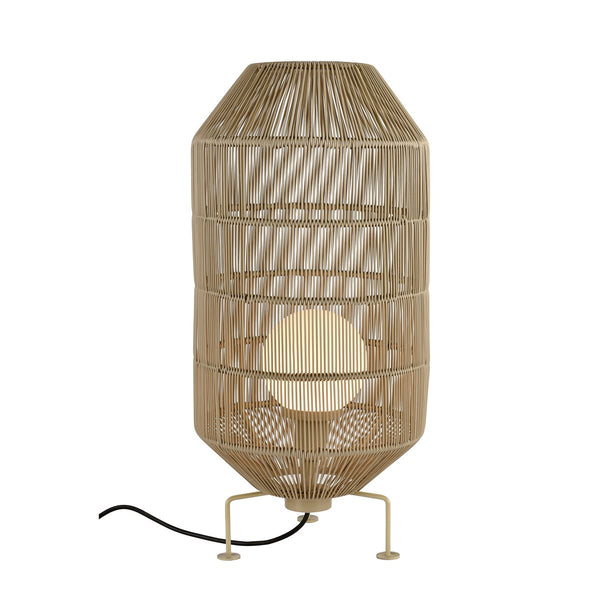 Lovecup Outdoor Bali Rattan Round Floor Lamp L622