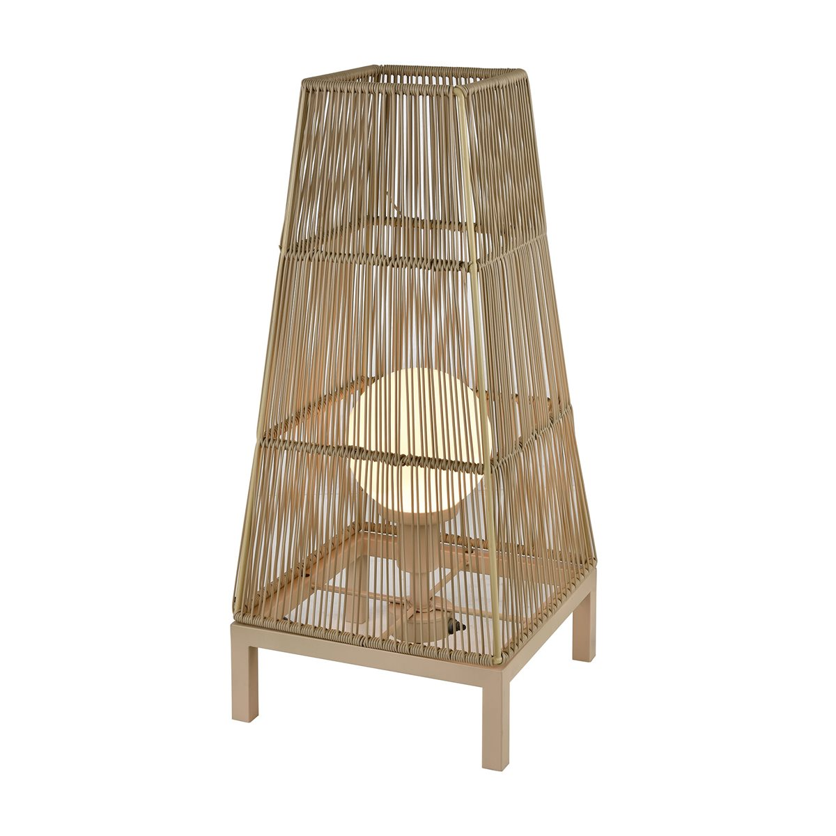 Lovecup Bali Rattan Outdoor Floor Lamp L623
