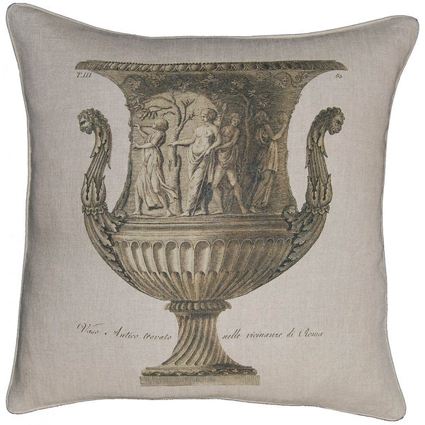 Lovecup Printed Linen Pillow 20in X 20in (WxH) LP21
