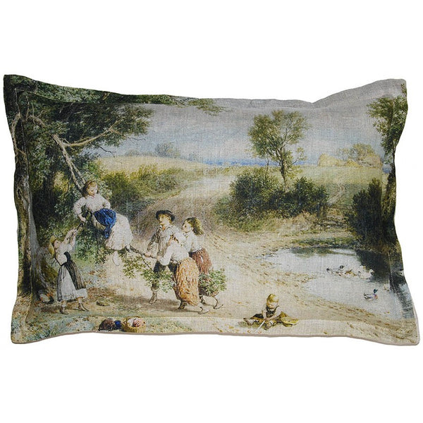 Lovecup Printed Linen Pillow 24in X 16in (WxH) LP41
