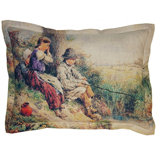 Lovecup Printed Linen Pillow 26in X 19in (WxH) LP44