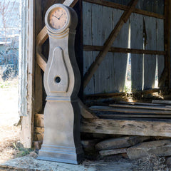 Lovecup Painted Farmhouse Hall Clock L986
