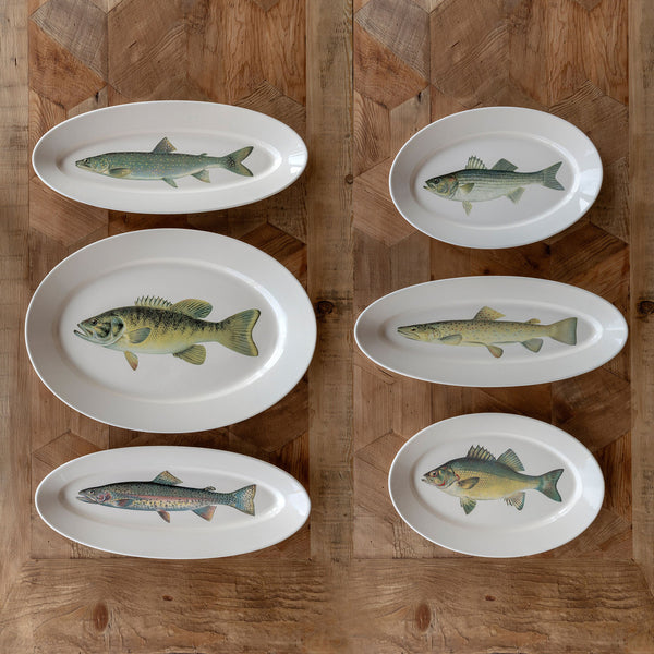 Lovecup Ceramic Fish Collection Platters L655