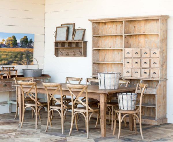 Lovecup Farmhouse Old General Store Hutch L977