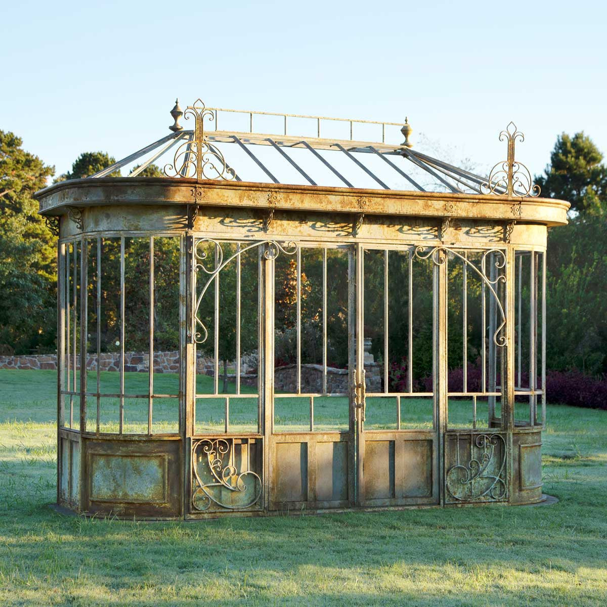 Lovecup Aged Metal Conservatory Facade Framework L861