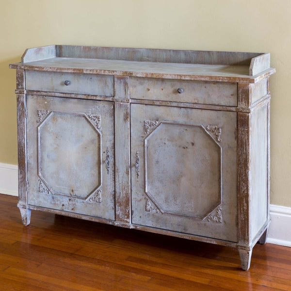Lovecup Distressed Pale Blue Butler's Cabinet L888