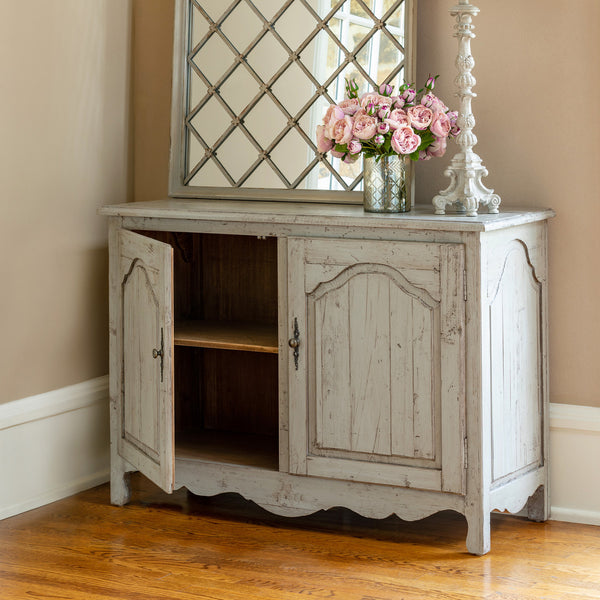Lovecup Aged Gray Painted Sideboard L610
