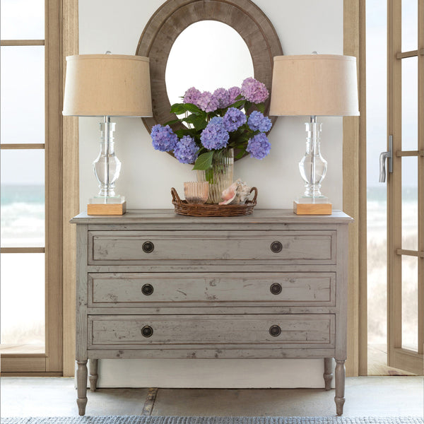 Lovecup Distressed Gray Cabinet L614