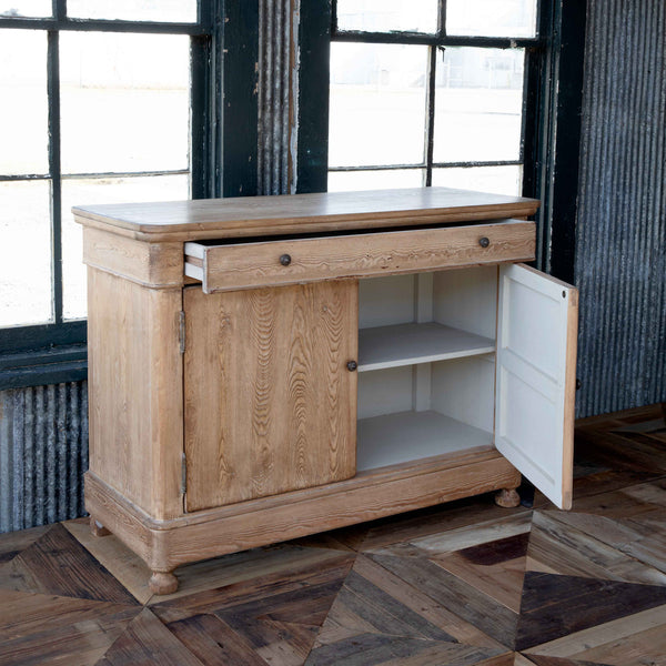 Lovecup Unstained Wood Farmhouse Server Sideboard L890