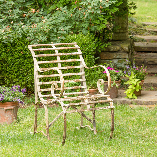 Lovecup Distressed Town Center Chair L417