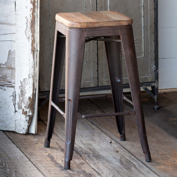 Lovecup Elm Top Barstool L588