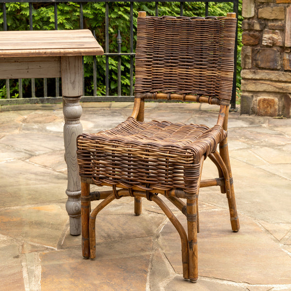 Lovecup Woven Rattan Bistro Chair, SET OF 2 L147