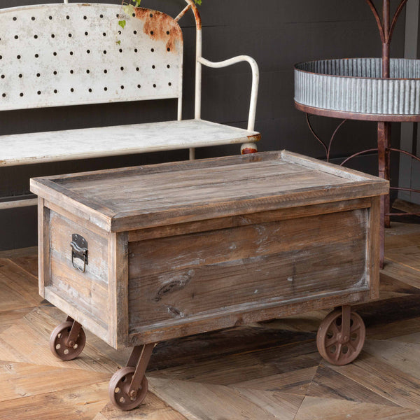 Lovecup Wooden Warehouse Crate Coffee Table L432