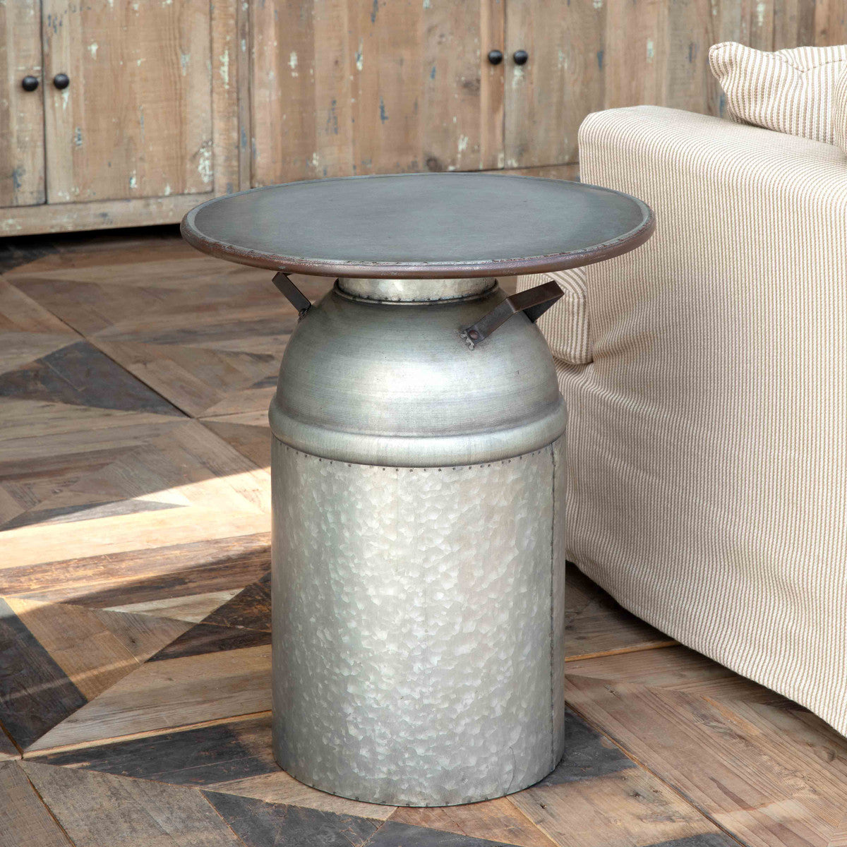 Lovecup Milk Can Side Table L618