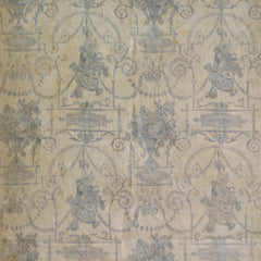 Lovecup French Quarter Blue  Wallpaper, Set of 2 rolls L821