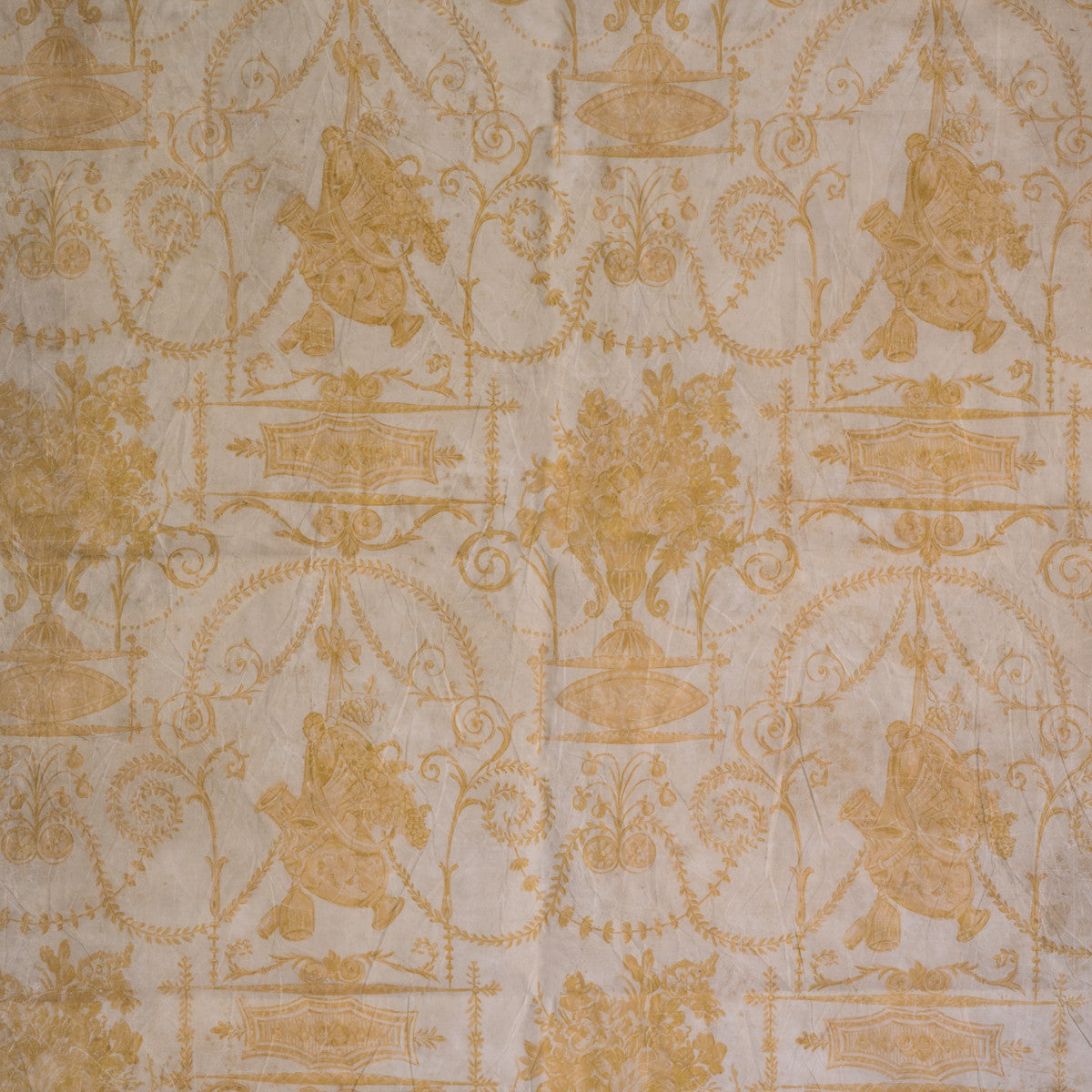 Lovecup French Quarter Yellow Wallpaper, Set of 2 rolls L824