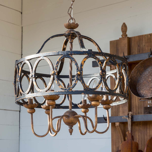 Lovecup Farmhouse Bed and Breakfast Reception Chandelier L660