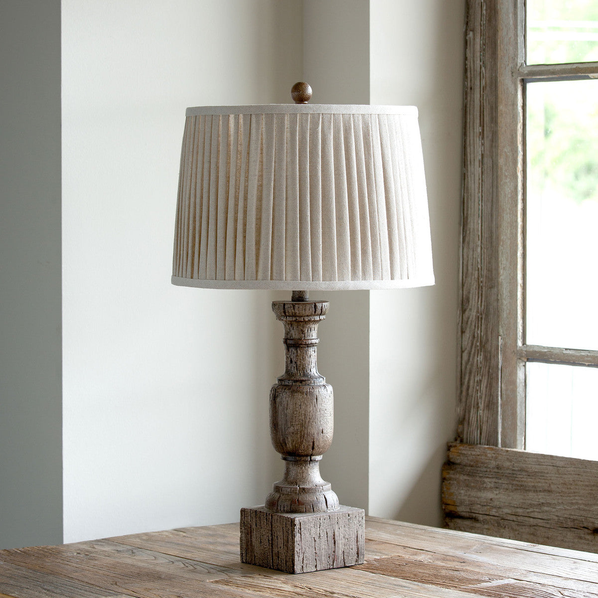 Lovecup Driftwood Look Table Lamp L448