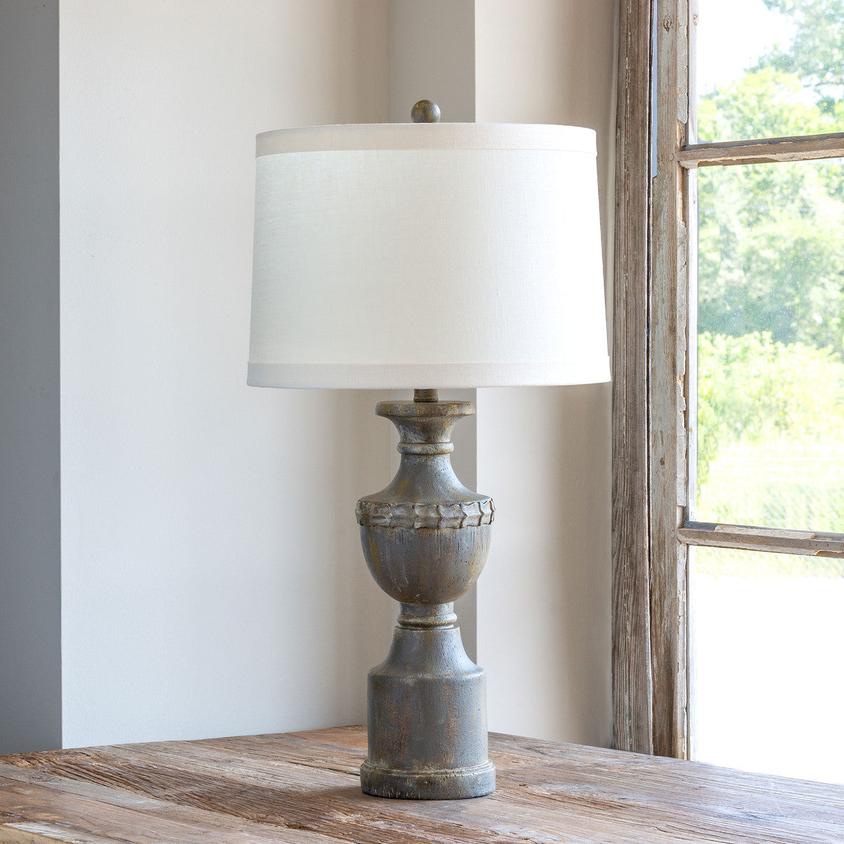 Lovecup Weathered Finial Lamp L451