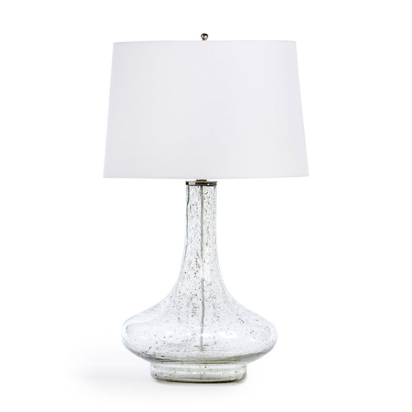 Lovecup White Lilly Seeded Glass Table Lamp L017