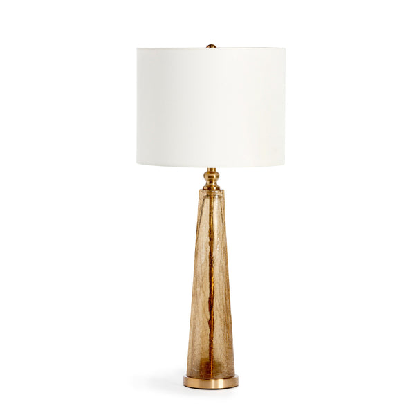 Lovecup Grayson Bronze Glass Table Lamp L021