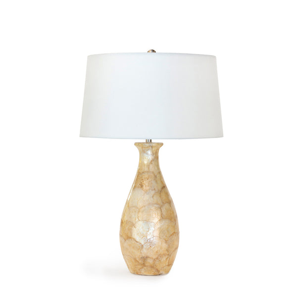 Lovecup Coastal Beach Capiz Shell Table Lamp L023